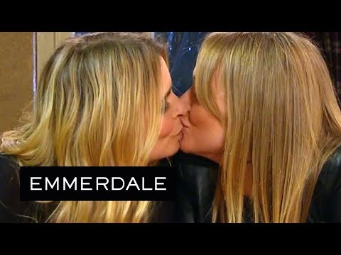 Emmerdale - Vanessa and Charity Make It Official!