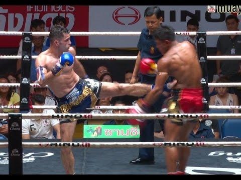Muay Thai Simanut vs Raffi สี่มนุษย์ vs ราฟฟี่, Lumpini Stadium, Bangkok, 08.7.16