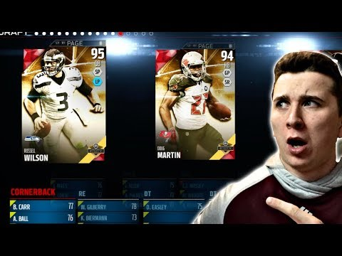 DRAFTING On A Super Old Madden Game! Madden 18 Draft