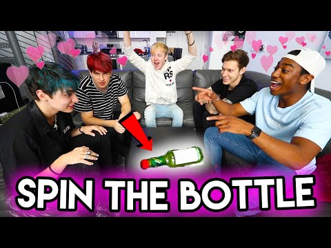 5 Guys Play SPIN THE BOTTLE