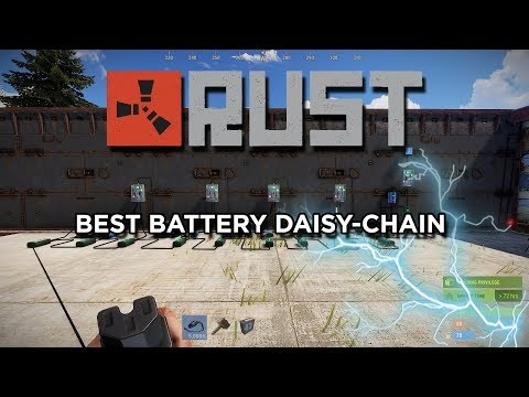 RUST BATTERIES - Advanced Daisy Chaining with Solar On/Off