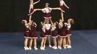 Caravel Academy Middle School State Cheerleading Competition