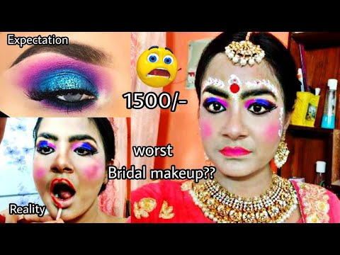 I Went To The Worst Reviewed Bridal Makeup Artist In India Kolkata Gone Wrong