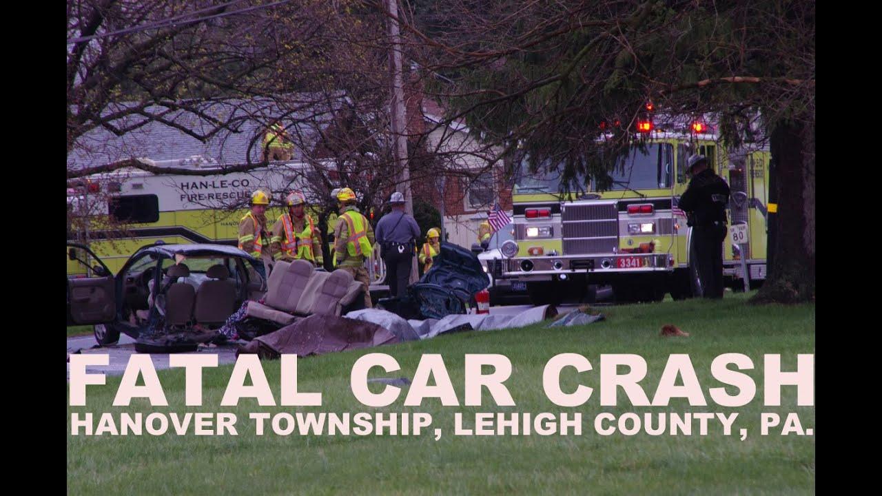 Fatal Car Crash - 1 child killed in ejection