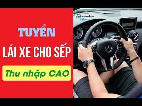 Công ty Cổ Phần Khai Sơn tuyển Lái xe cho sếp tại Hà Nội