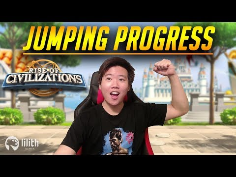 Jumping Progress Day 4 Guides | Rise of Civilizations