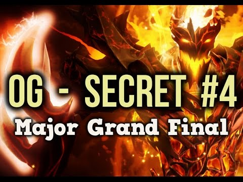 Team Secret vs OG Dota 2 Frankfurt Major Grand Final Game 4