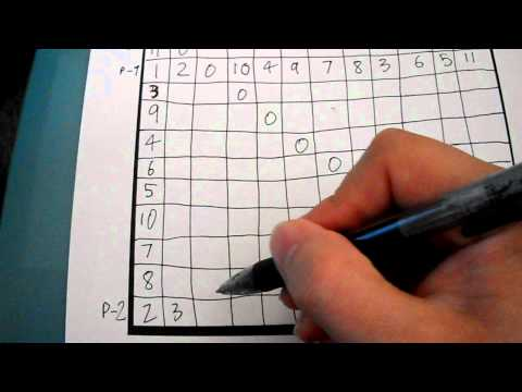 How to make a 12-tone matrix