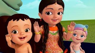 Chalti Hui Motor Gaadi Mein Haathon Se Taaliyaan Bajaana! | Hindi Rhymes for Children | Infobells