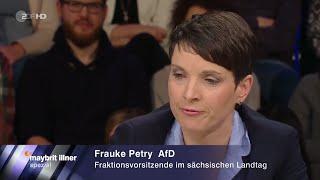 Die Bürger Haben Es Gewagt, Die AfD Zu Wählen - 13.03.2016 Maybrit Illner - Bananenrepublik