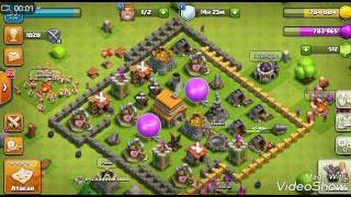 Ahora toca clash of clans (the king of the leyend)