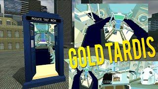 Gold Interior - Tardis Rewrite!