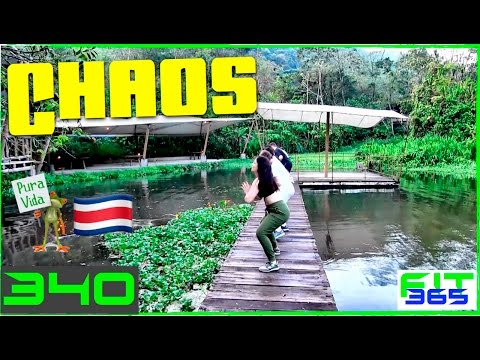CHAOS WORKOUT in The Costa Rican Rainforest!