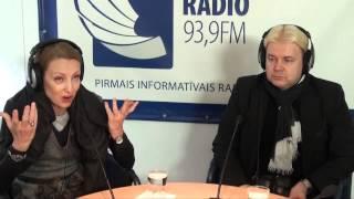 "MIX TV: Андрис и Илзе Лиепа на радио ""Baltkom"""