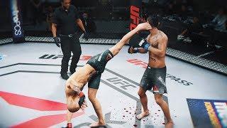 ТЕХНИЧНО УБИВАЮ МИРОВОЙ ТОП 10 RANKED UFC 3