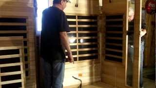 Infrared sauna before and after - Are they easy to assemble?
