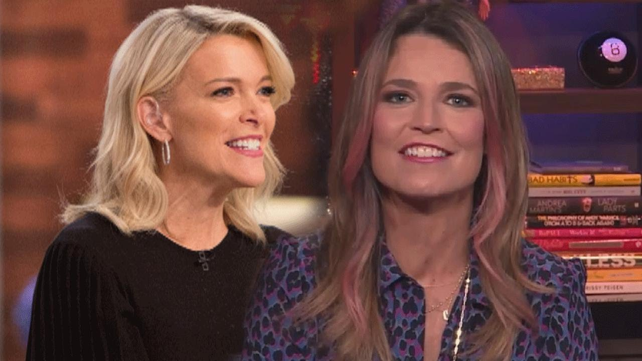Download Savannah Guthrie Reacts to Megyn Kelly's Bumpy First Week at 'Today'