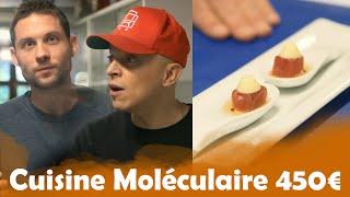 Cuisine moléculaire à 1€ VS 450€ avec Rachid Badouri