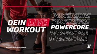 Fitness First Live Workout - PowerCore mit Amir
