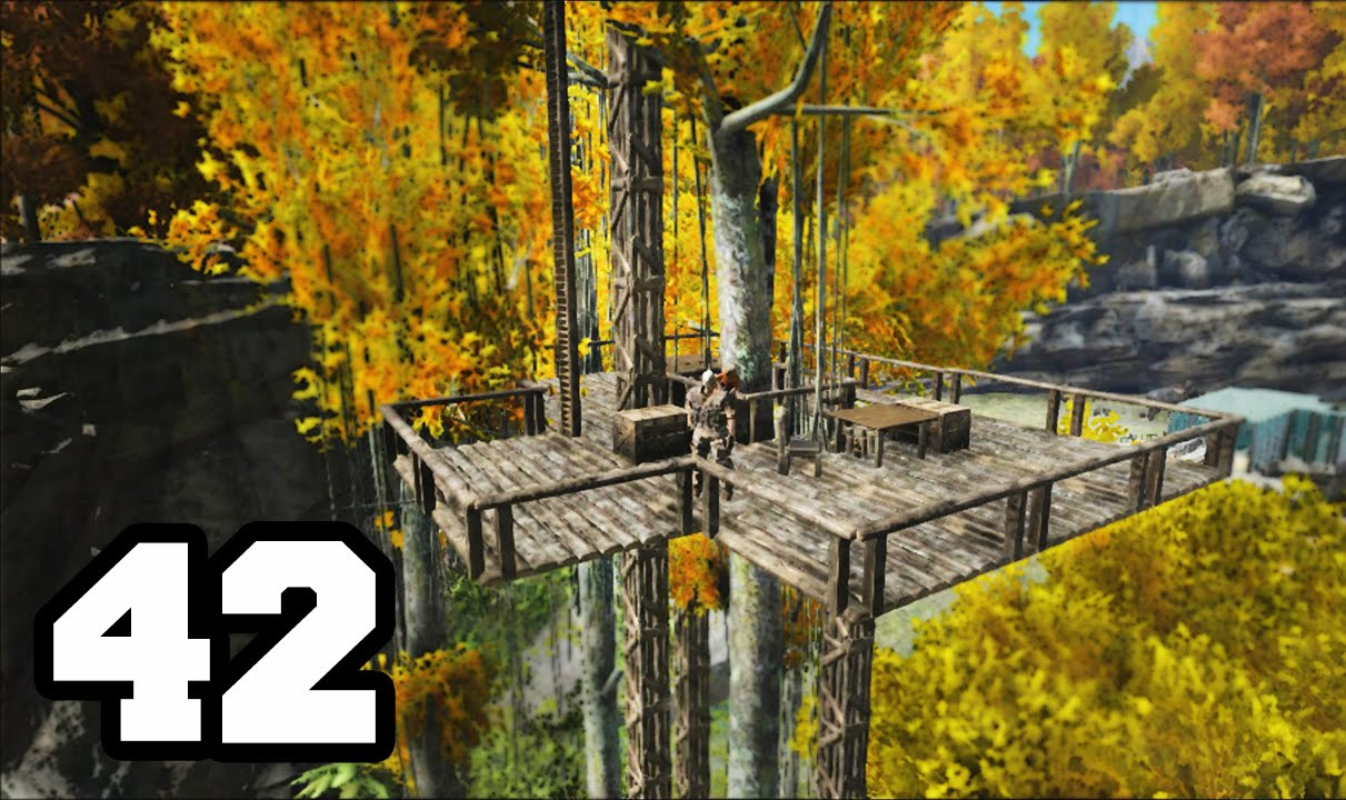 Casa del arbol ark survival elvolved 42 con mods youtube for Casa del arbol cuenca