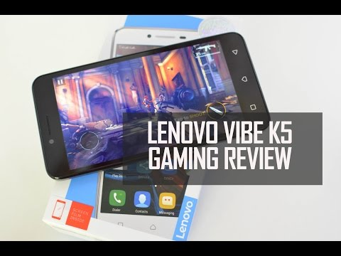 Lenovo Vibe K5 Gaming Review (with Heating Test)