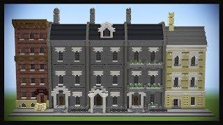Minecraft Realistic Street Tutorial