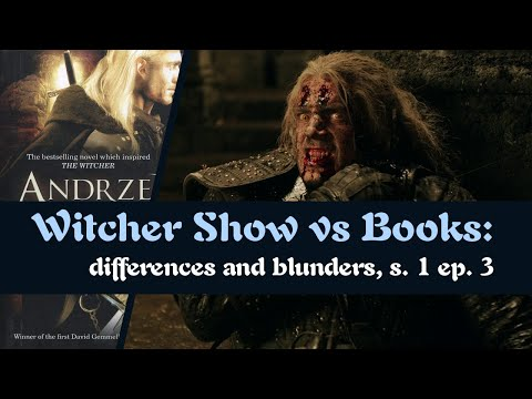 "Witcher TV Show vs Books - Differences - s01e03 ""Betrayer Moon"" (revoiced)"