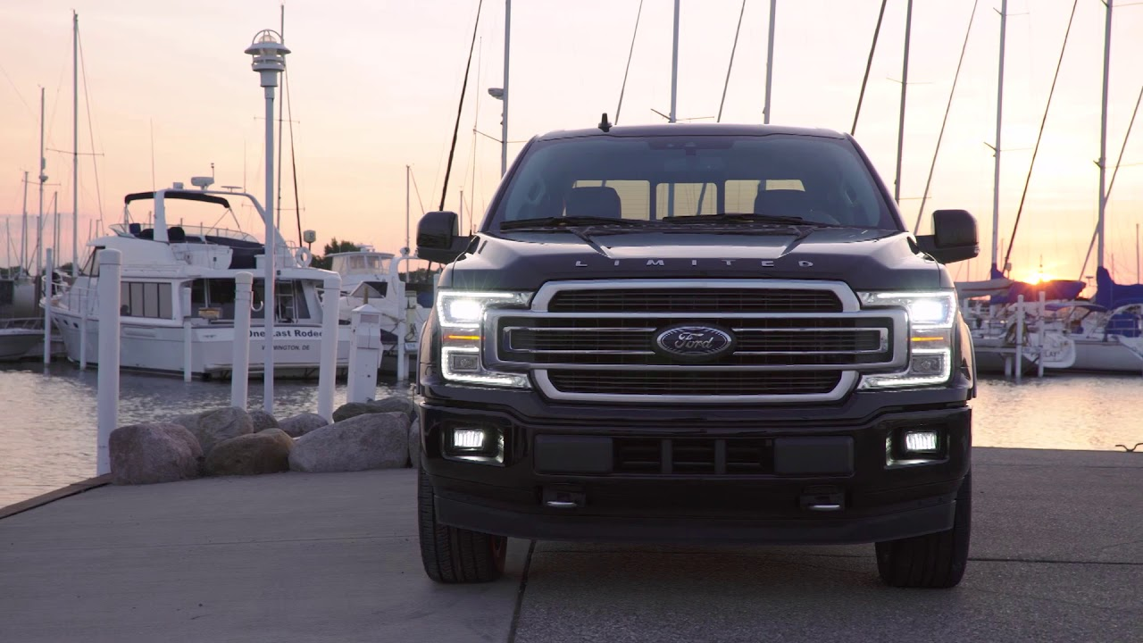 ford   limited headlights tail lights youtube