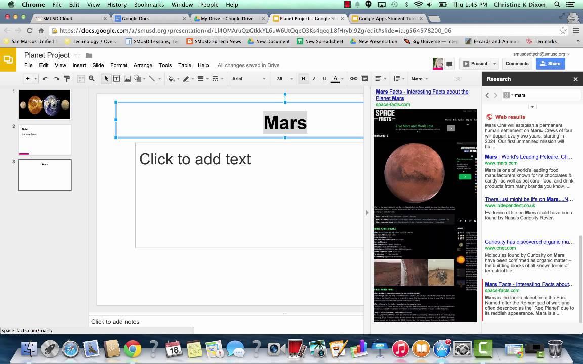 google slides student tutorial youtube