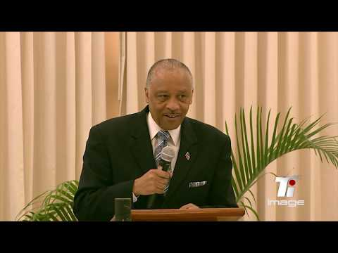 UF President Lionel Jean-Baptiste Speaking at the First Friday of the Diaspora Meeting