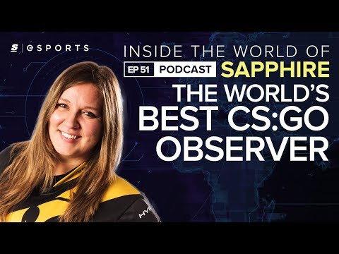 Talking to the world's top CS:GO observer: sapphiRe on the challenges facing female players and more