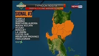 NTG: Weather update as of 11:02 a.m. (October 30, 2018)