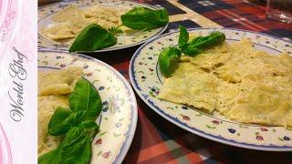 Равиоли с рикоттой и шпинатом | Рецепт | Итальянская кухня