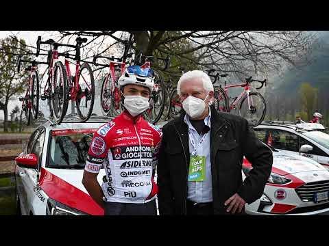 Santiago Umba presentato da Gianni Savio - Tour of the Alps