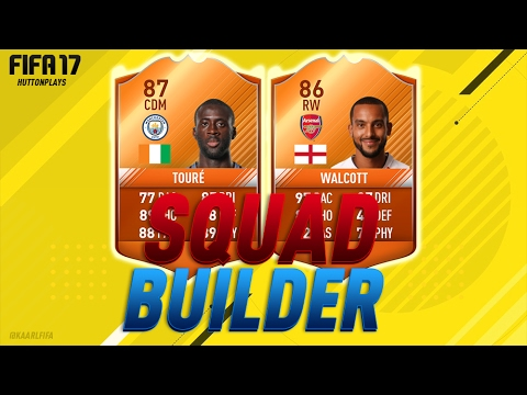 FIFA 17 Squad Builder - MOTM STRIKER YAYA TOURE! w/ MOTM Toure, MOTM Walcott + MOTM Defour!