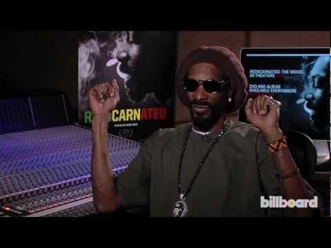 Snoop Dogg Talks Snoop Lion, Reincarnated and Bob Marley