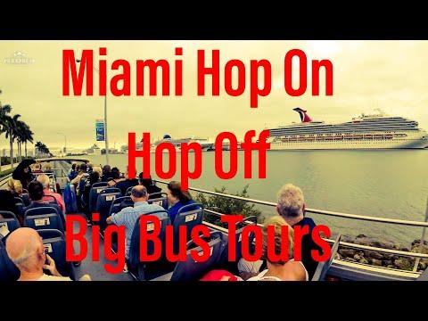 Miami Big Bus Tour - Hop On Hop Off