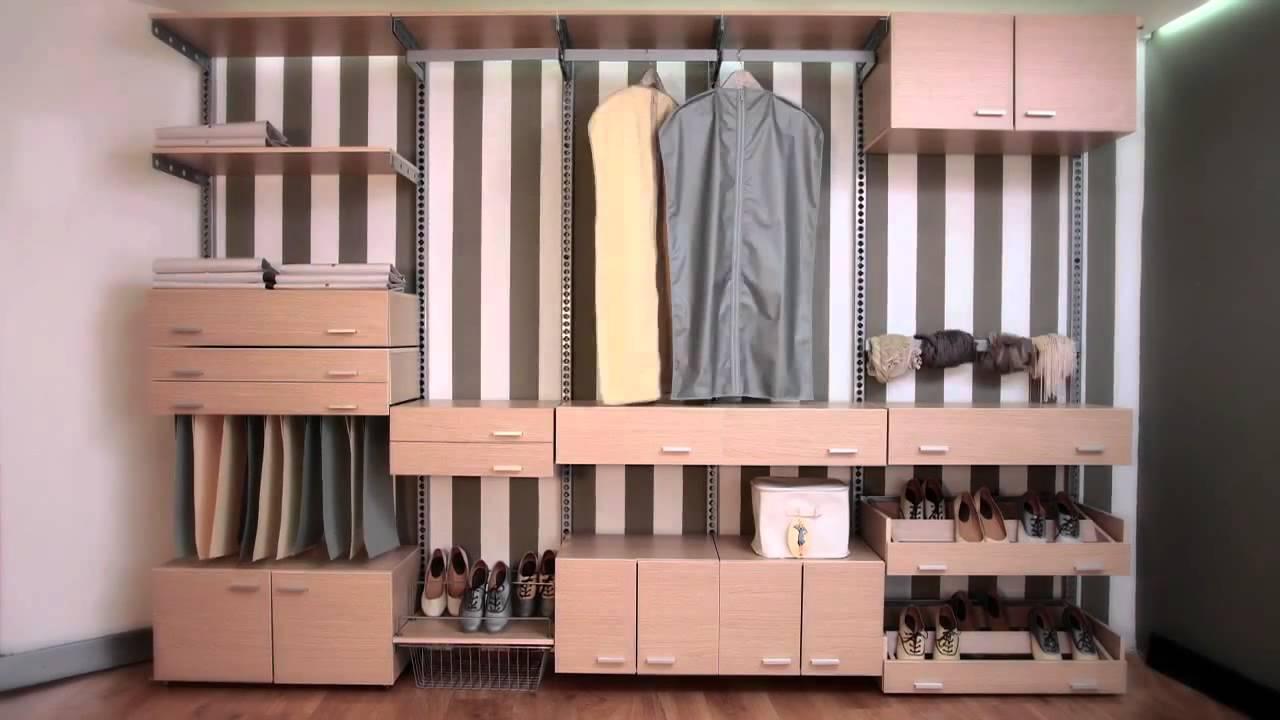 M s closet y youtube for Organizadores para closet