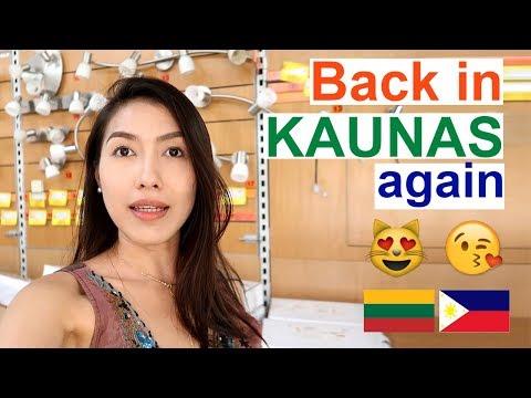 "Life in LITHUANIA ""I am Back"" (PinayVlog) It'srofa"