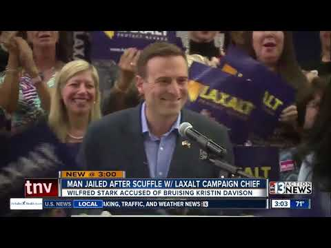 Man jailed after scuffle with Adam Laxalt campaign chief in Las Vegas