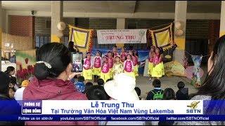 PHÓNG SỰ CỘNG ĐỒNG: Trung Thu ở trường Việt Ngữ vùng Lakemba, Úc Châu