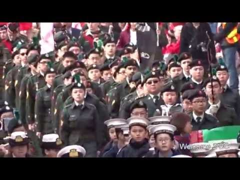Chinese new year parade 2015 Vancouver Full