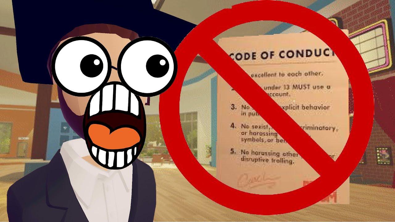 CODE OF CONDUCT | Rec Room Skit