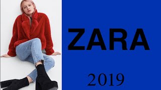 ZARA. Одежда с примеркой Осень-Зима 2018-2019. Shopping. Autumn-Winter. 1 Часть
