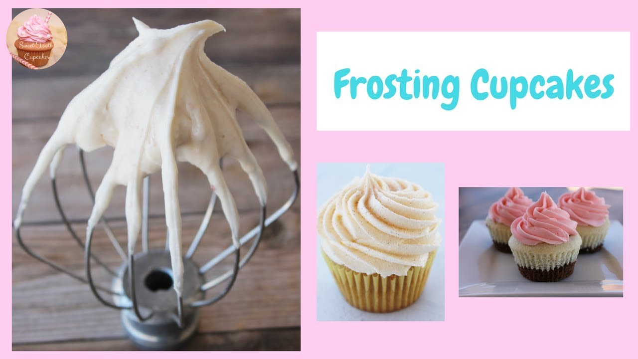 Frosting Cupcakes | How To Frost Cupcakes | Wilton Piping Tips