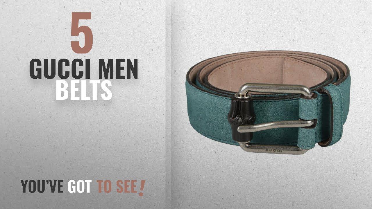 9f484bbad Gucci Men Belts [Winter 2018 ]: Gucci Men's Blue Nubuck Leather Belt ...