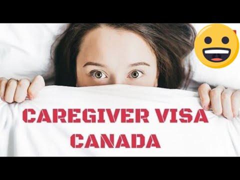CANADA CAREGIVER IMMIGRATION PROGRAM   CAREGIVER VISA CANADA