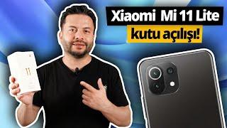 Uygun fiyatlı Xiaomi Mi 11 Lite kutusundan çıkıyor!