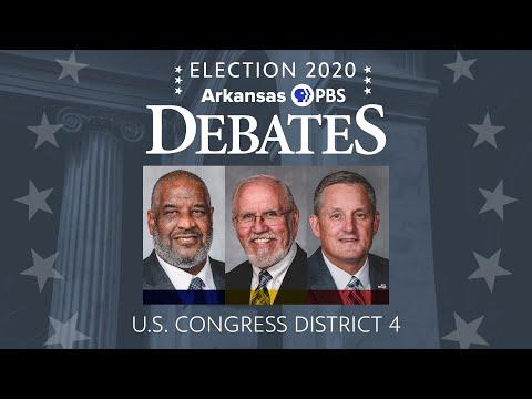 Arkansas PBS U.S. Congressional District 4 Debate