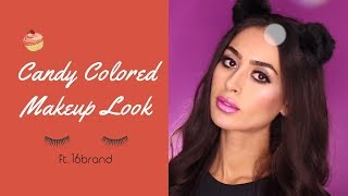 Candy Colored Makeup Look | 16brand | YesStyle Korean Beauty